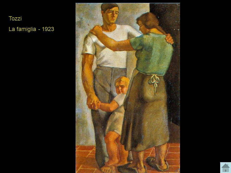Tozzi La famiglia - 1923