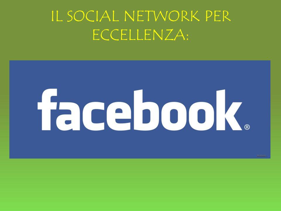 IL SOCIAL NETWORK PER ECCELLENZA: