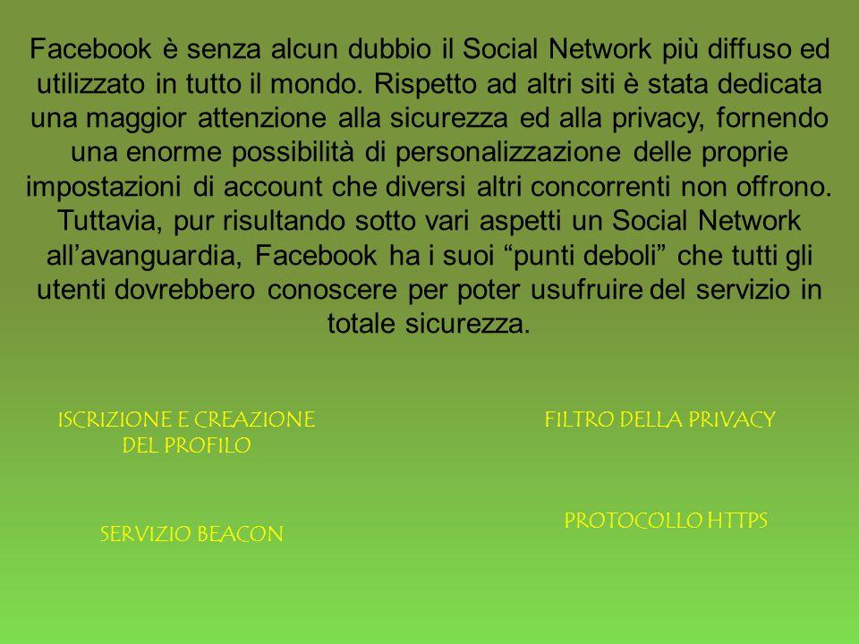 Facebook è senza alcun dubbio il Social Network più diffuso ed utilizzato in tutto il mondo.