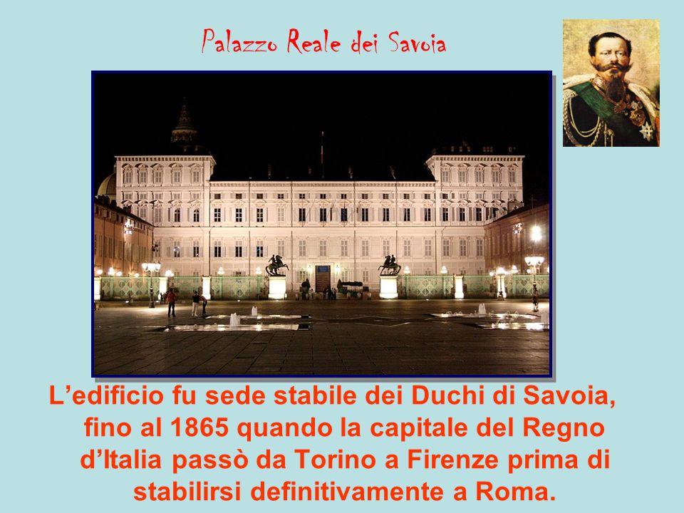 Palazzo Carignano Fu sede del Parlamento del Regno di Sardegna e soprattutto la sede del Primo Parlamento Italiano.