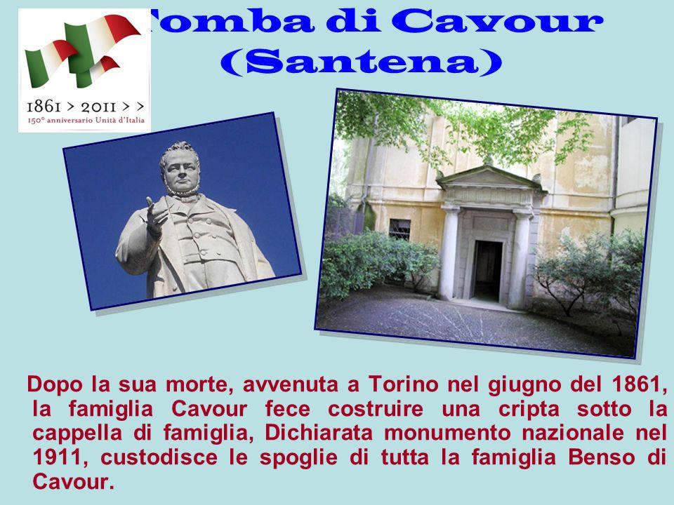 E un importante complesso monumentale, che comprende il Castello, la Sala Diplomatica, il Parco, la tomba dei Cavour e la Torre.