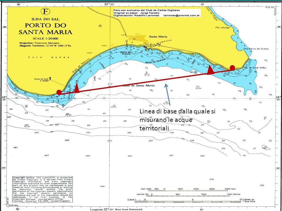 G.Balbi Linea di base dalla quale si misurano le acque territoriali