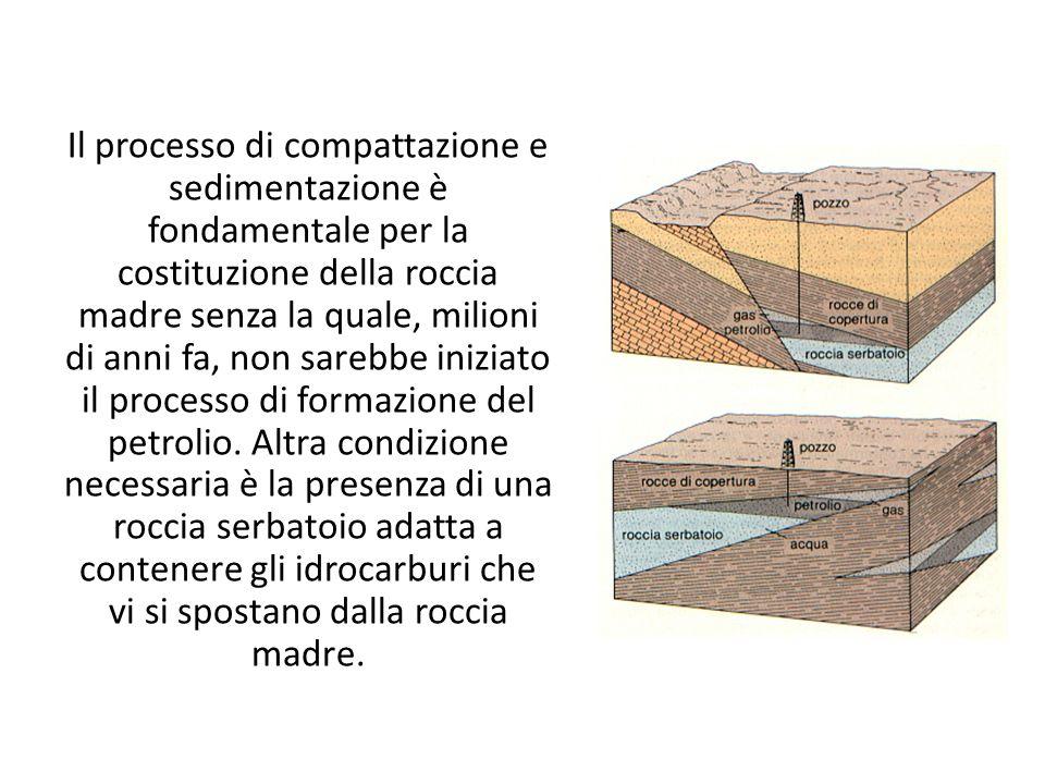 Il processo di compattazione e sedimentazione è fondamentale per la costituzione della roccia madre senza la quale, milioni di anni fa, non sarebbe in