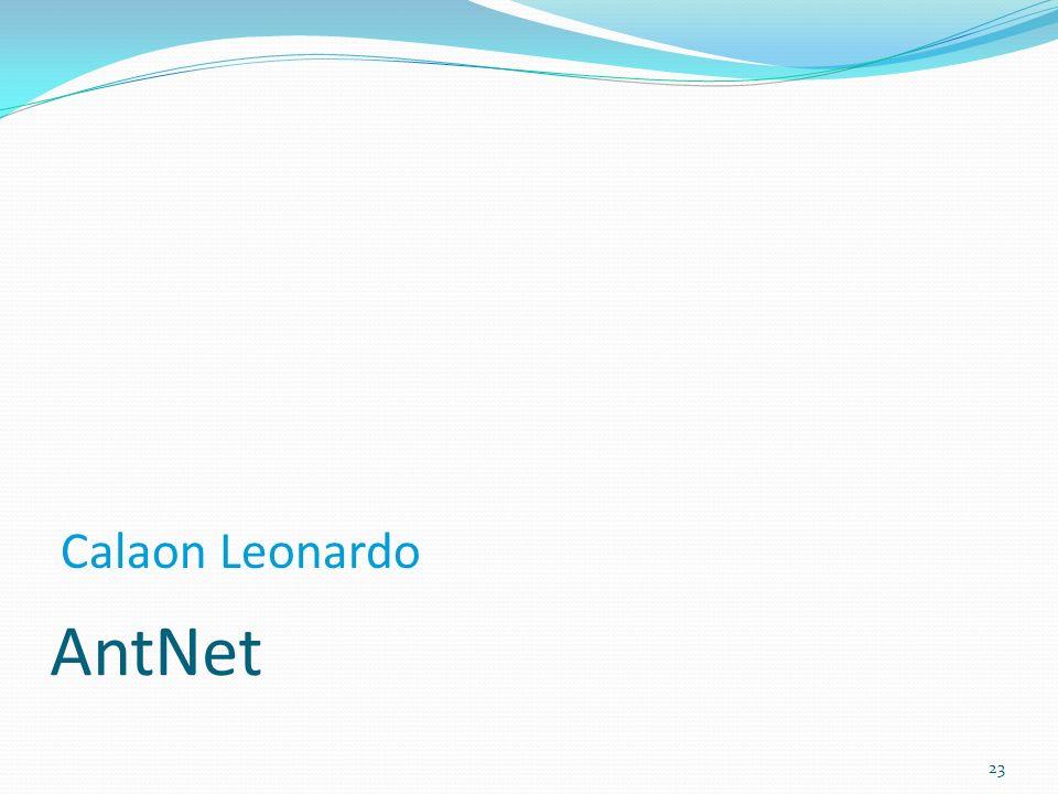 AntNet 23 Calaon Leonardo