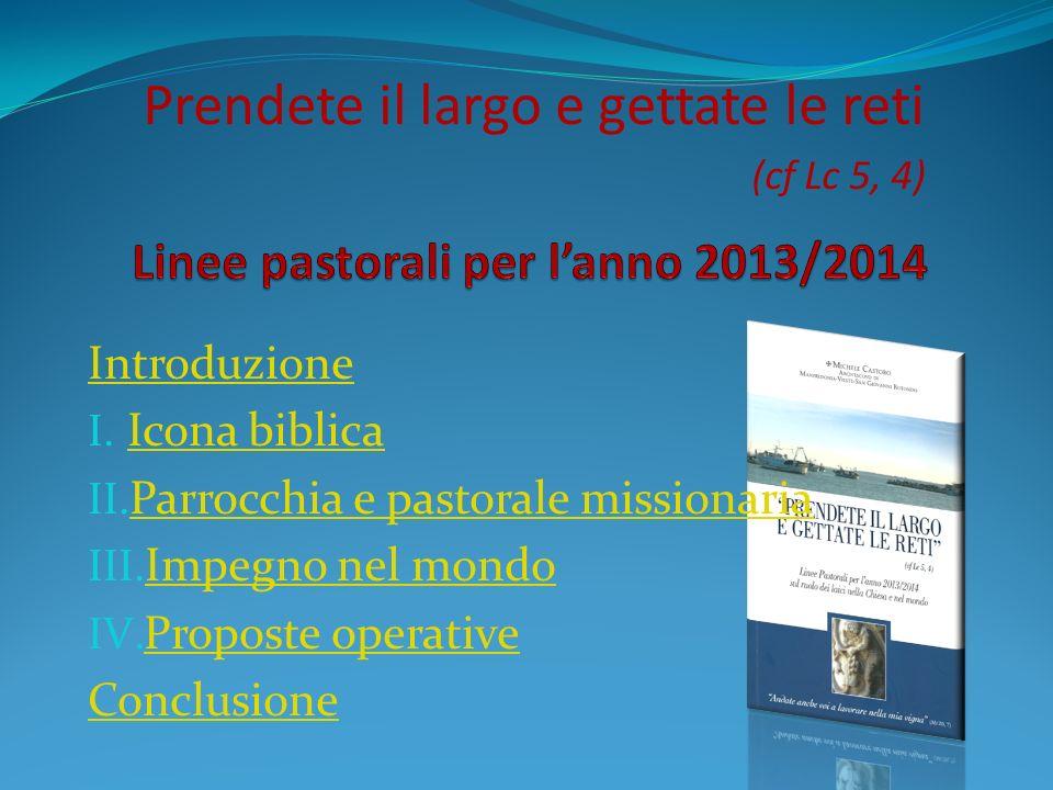 Introduzione I.Icona biblica Icona biblica II.