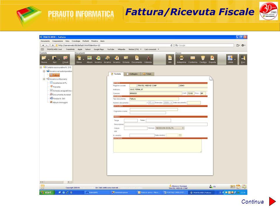 Fattura/Ricevuta Fiscale Continua