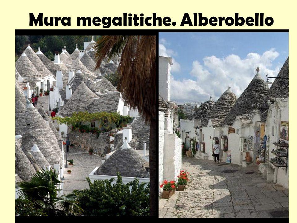 Mura megalitiche. Alberobello