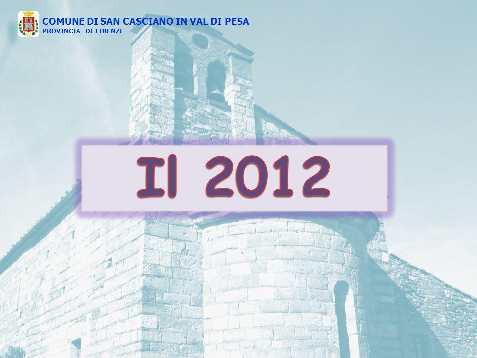 COMUNE DI SAN CASCIANO IN VAL DI PESA PROVINCIA DI FIRENZE