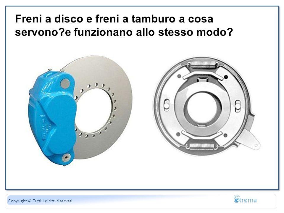 La forza peso è uguale al di gravità Copyright © Tutti i diritti riservati Freni a disco e freni a tamburo a cosa servono?e funzionano allo stesso mod