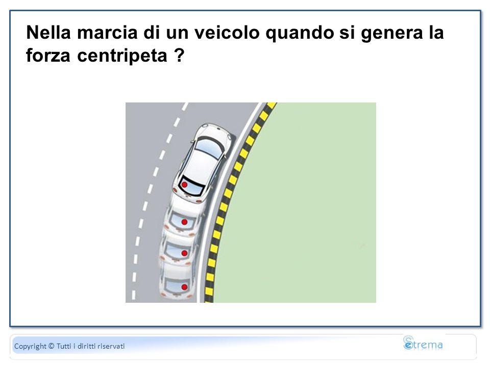 La forza peso è uguale al di gravità Copyright © Tutti i diritti riservati Nella marcia di un veicolo quando si genera la forza centripeta ?