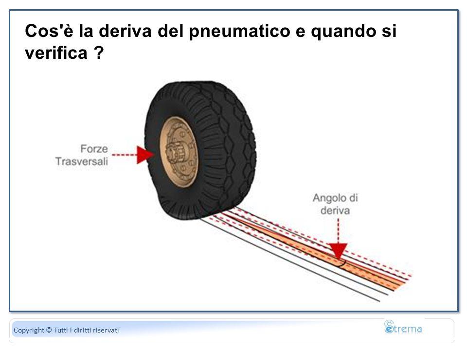 La forza peso è uguale al di gravità Copyright © Tutti i diritti riservati Cos'è la deriva del pneumatico e quando si verifica ?
