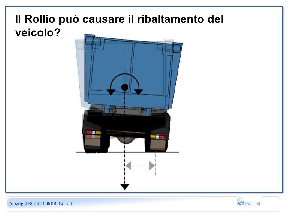 La forza peso è uguale al di gravità Copyright © Tutti i diritti riservati Il Rollio può causare il ribaltamento del veicolo?