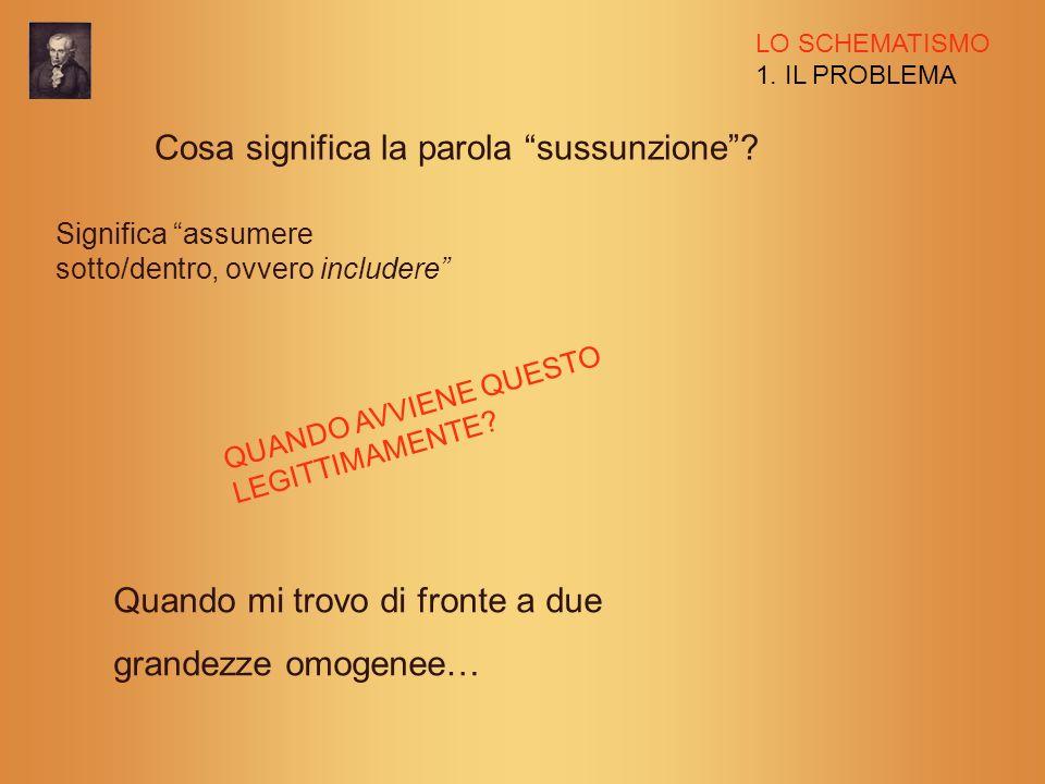 LO SCHEMATISMO 3.