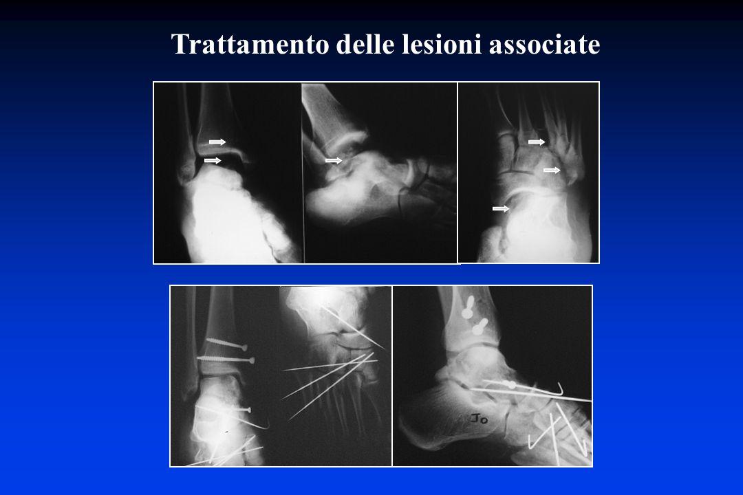 Trattamento delle lesioni associate