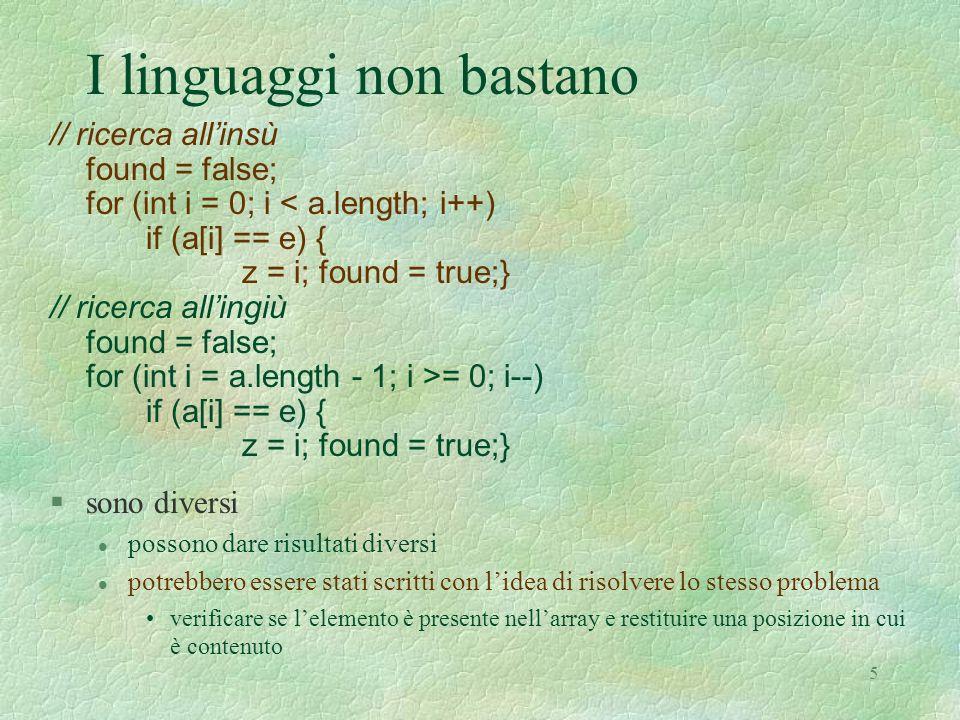 6 Migliori astrazioni nel linguaggio.