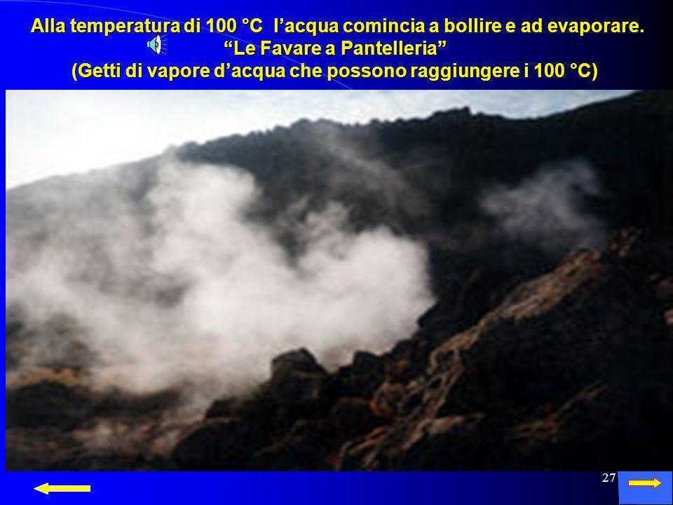26 Eccola allo stato gassoso sotto forma di nebbia! Eccola allo stato gassoso sotto forma di nebbia!