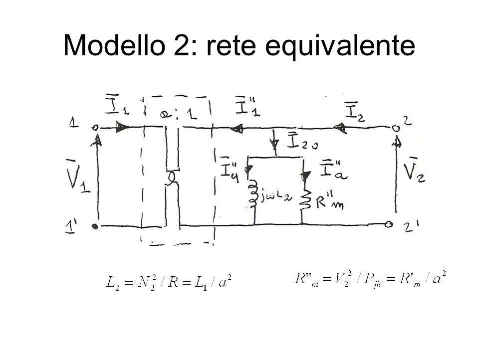 Modello 2: rete equivalente