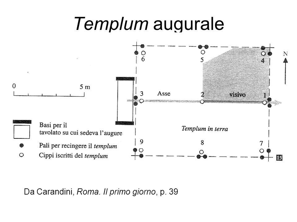 Templum augurale Da Carandini, Roma. Il primo giorno, p. 39