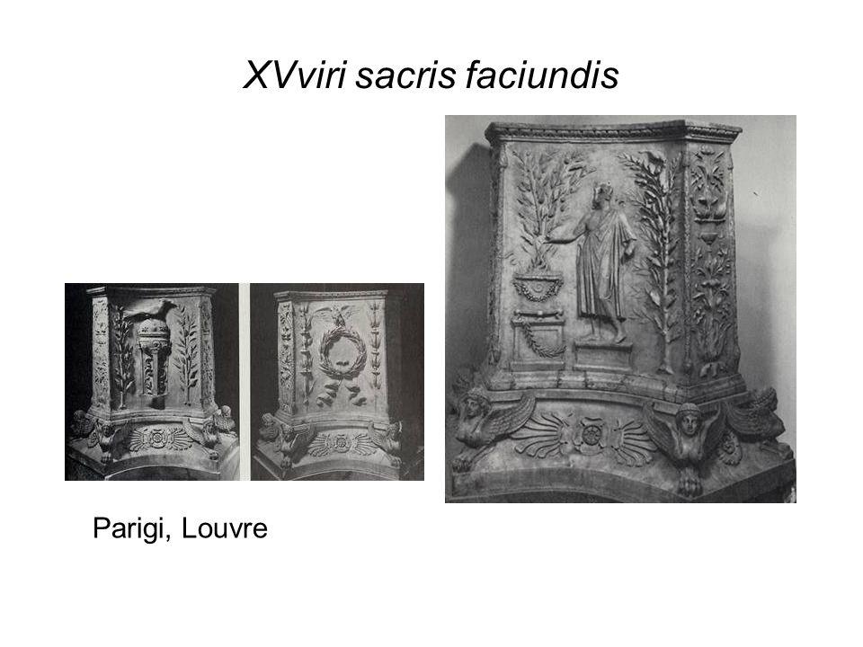 XVviri sacris faciundis Parigi, Louvre