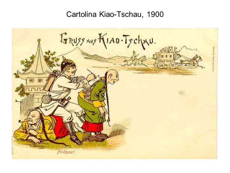 Cartolina Kiao-Tschau, 1900