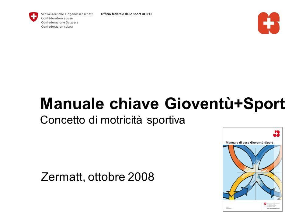 Manuale chiave Gioventù+Sport Concetto di motricità sportiva Zermatt, ottobre 2008