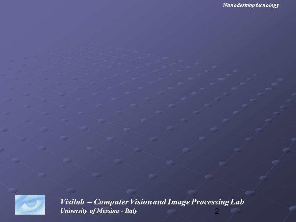53 Visilab – Computer Vision and Image Processing Lab University of Messina - Italy Nanodesktop tecnology Questo è il programma che abbiamo usato sotto OpenCV per x86 #include #include int main (void) { IplImage *src, *dst; IplImage *src, *dst; char name [255]= c:\\lena.png ; char name [255]= c:\\lena.png ; cvNamedWindow( window src ,CV_WINDOW_AUTOSIZE); cvNamedWindow( window src ,CV_WINDOW_AUTOSIZE); cvNamedWindow( window dst ,CV_WINDOW_AUTOSIZE); cvNamedWindow( window dst ,CV_WINDOW_AUTOSIZE); src=cvLoadImage(name, 0); src=cvLoadImage(name, 0); dst=cvCreateImage( cvSize(src->width, src->height), IPL_DEPTH_8U, 1); dst=cvCreateImage( cvSize(src->width, src->height), IPL_DEPTH_8U, 1); cvSmooth (src, dst, CV_GAUSSIAN, 9, 0, 0, 0); cvSmooth (src, dst, CV_GAUSSIAN, 9, 0, 0, 0); cvShowImage( window src , src); cvShowImage( window src , src); cvShowImage( window dst , dst); cvShowImage( window dst , dst); cvWaitKey(0); cvWaitKey(0); cvDestroyWindow ( window src ); cvDestroyWindow ( window src ); cvDestroyWindow (window dst); cvDestroyWindow (window dst); cvReleaseImage(&src); cvReleaseImage(&src); cvReleaseImage(&dst); cvReleaseImage(&dst);}