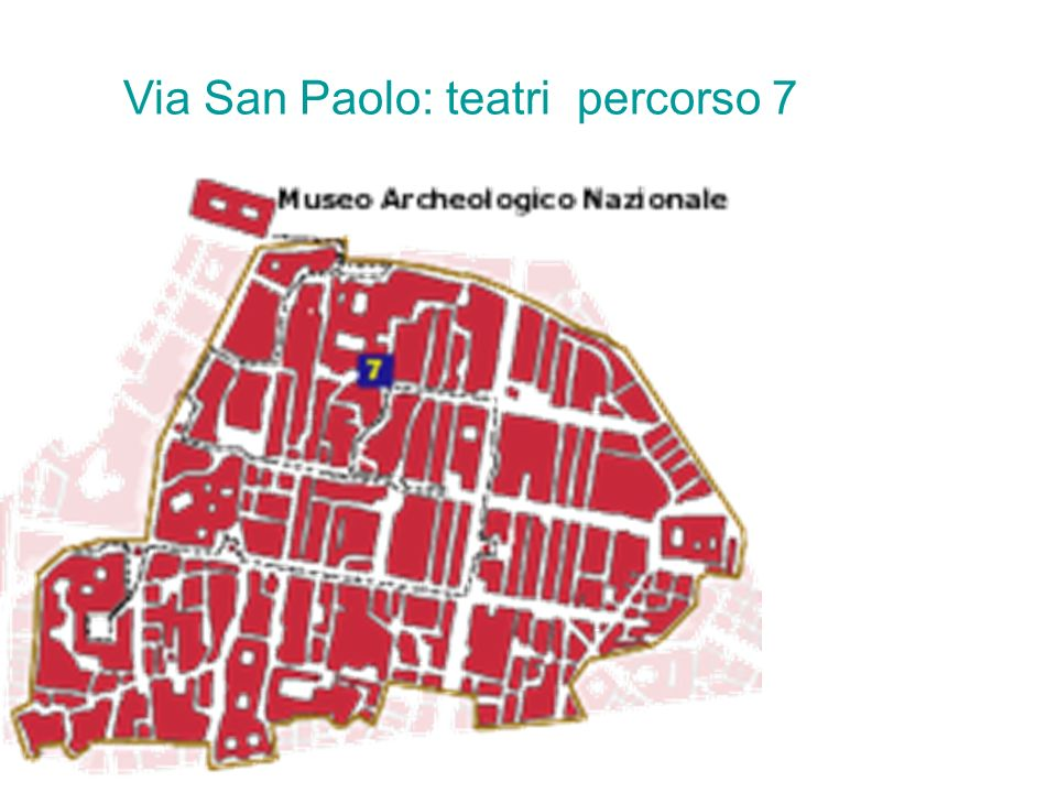 Via San Paolo: teatri percorso 7