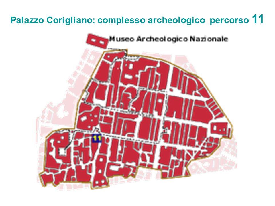 Palazzo Corigliano: complesso archeologico percorso 11
