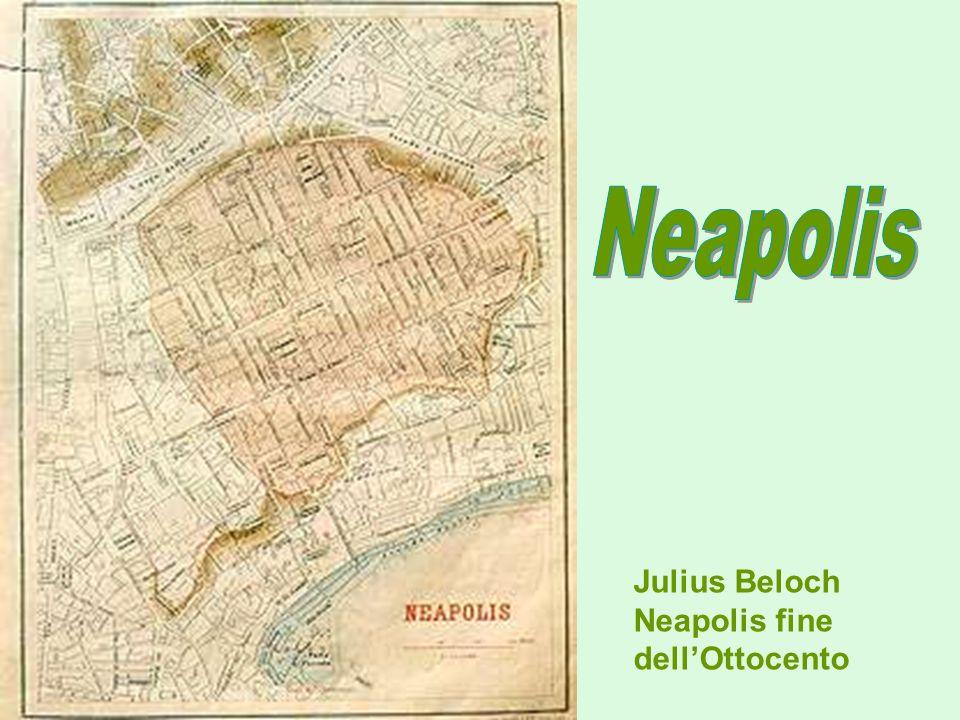 Julius Beloch Neapolis fine dellOttocento