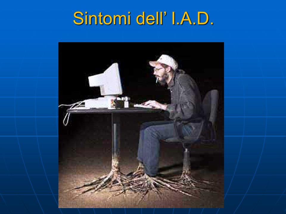 Sintomi dell I.A.D.