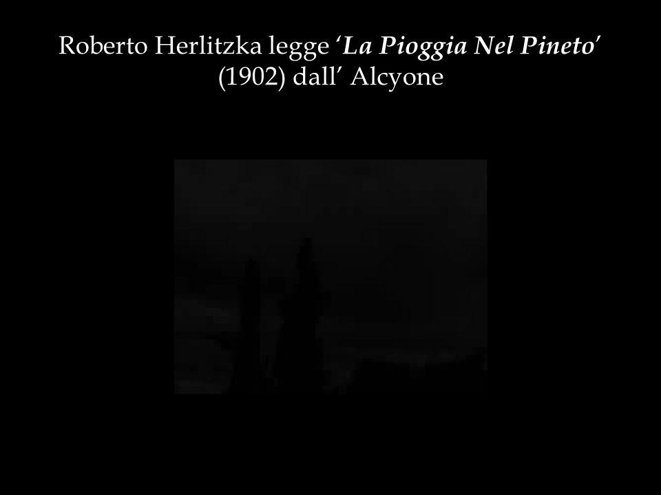 La Pioggia Nel Pineto Gabriele DAnnunzio, La Pioggia Nel Pineto Nel poeta abruzzese i corpi sono immersi nel MITO, in un eterno presente da cui non potranno mai uscire.