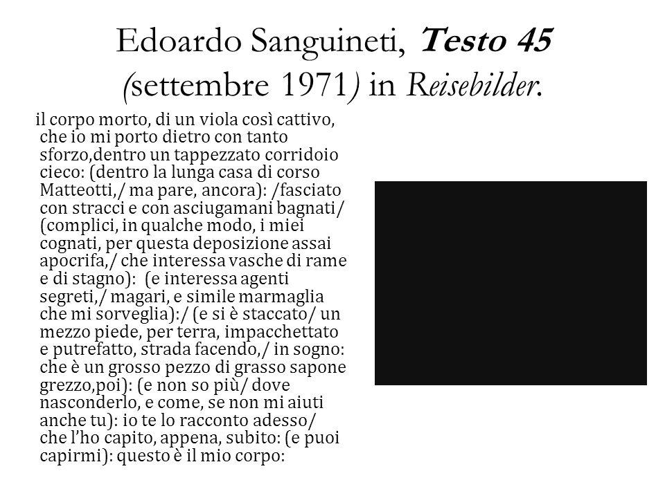 Edoardo Sanguineti, Testo 12 (dicembre 1981) da Segnalibro.