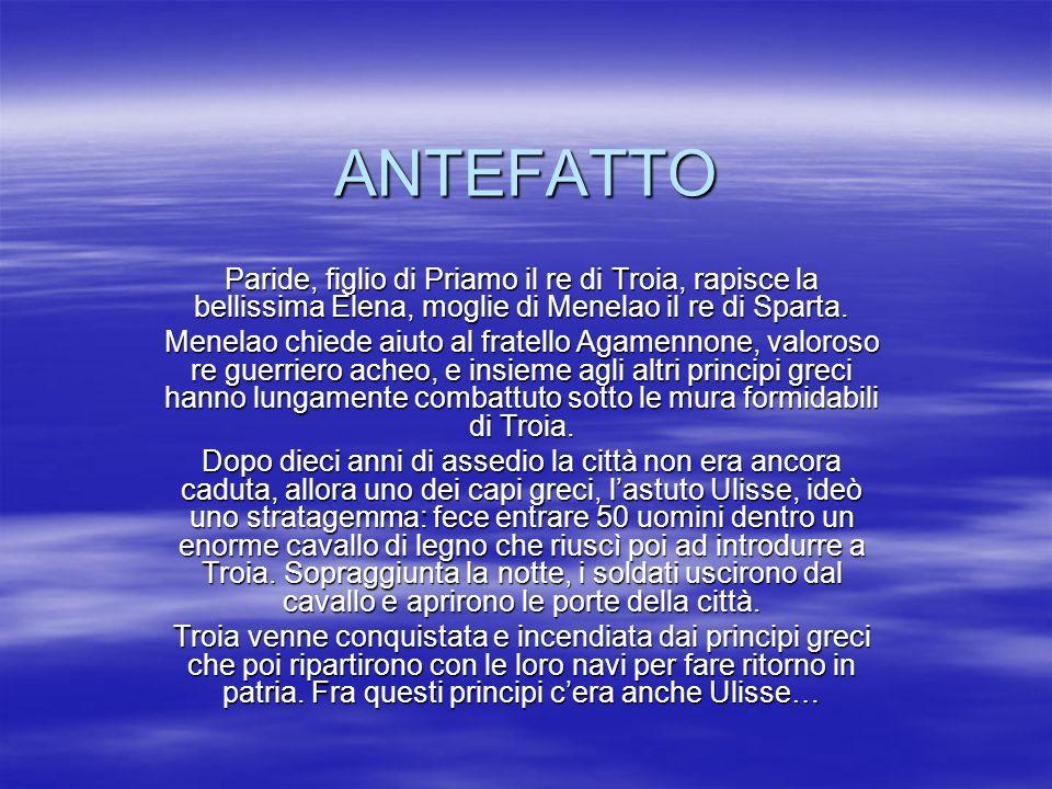 LE TAPPE DELLAVVENTUROSO VIAGGIO DI ULISSE 1.T roia 2.