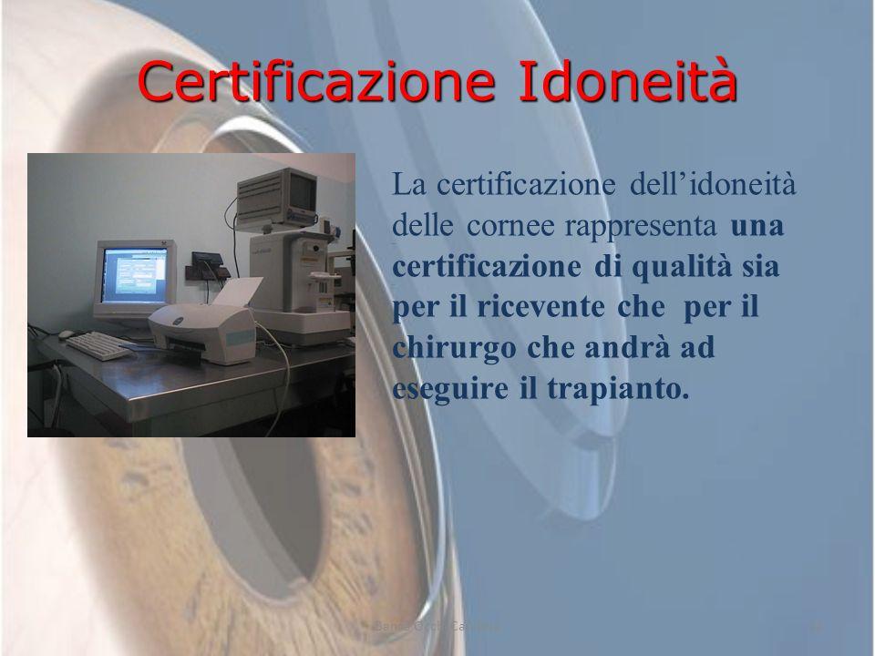 Certificazione Idoneità rappresenta una certificazione di qualità sia per il ricevente che per il chirurgo che andrà ad eseguire il trapianto. La cert