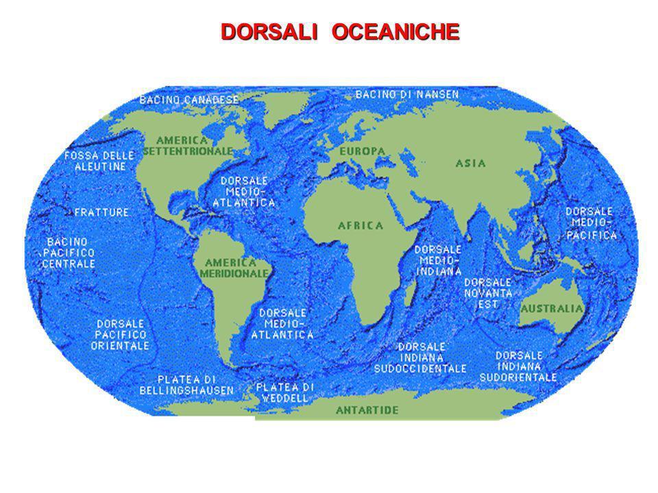 DORSALI OCEANICHE