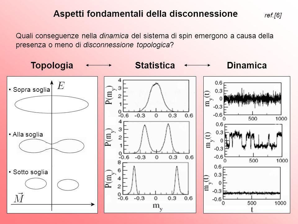 Topologia Statistica Dinamica Aspetti fondamentali della disconnessione Quali conseguenze nella dinamica del sistema di spin emergono a causa della pr
