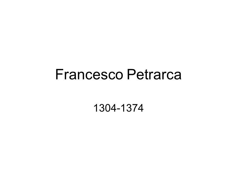 Straniero ovunque Nato «sotto il segno dellesilio», sentirsi «straniero ovunque»: così affermerà Petrarca