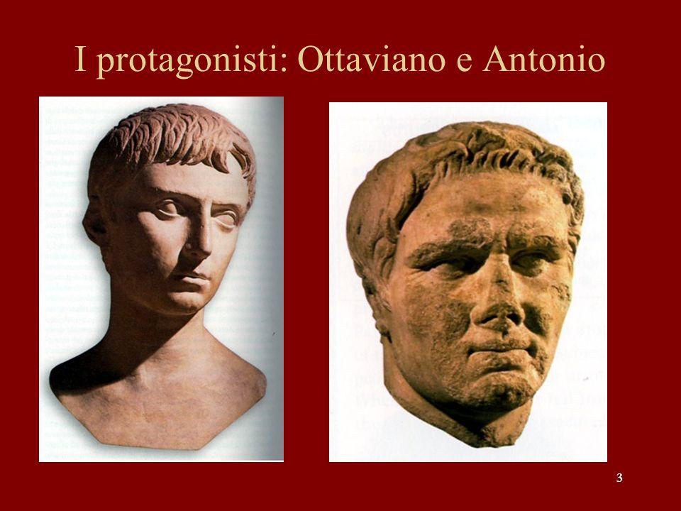 44 Il primo scontro tra Ottaviano e Antonio nel 44-43 a.C.