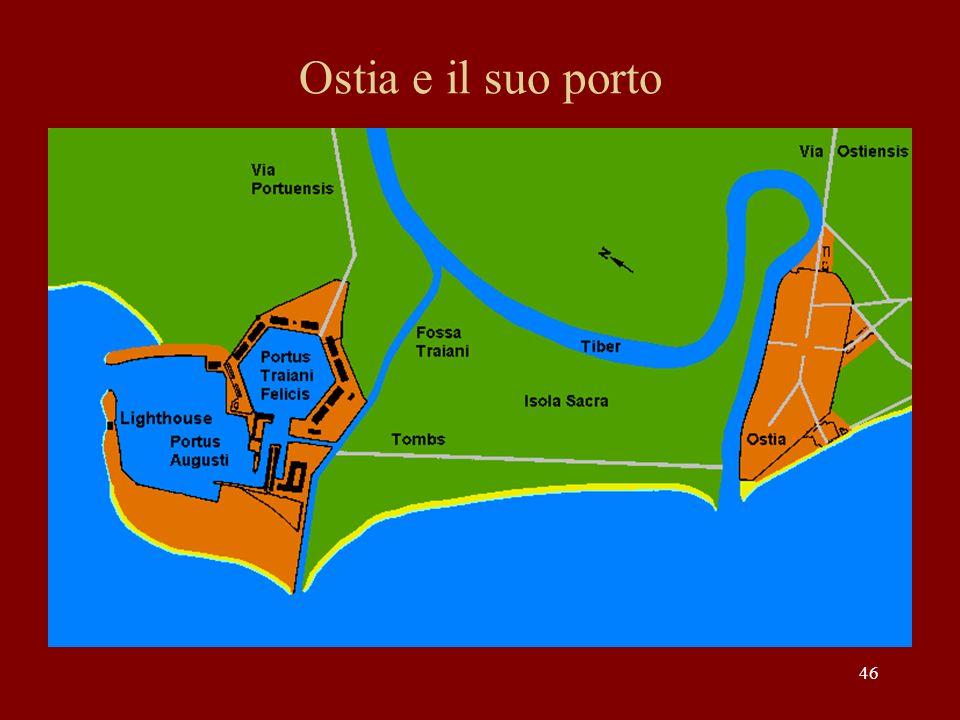 46 Ostia e il suo porto