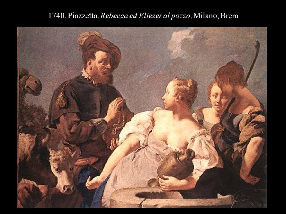 1740, Piazzetta, Rebecca ed Eliezer al pozzo, Milano, Brera