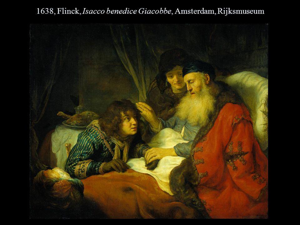 1638, Flinck, Isacco benedice Giacobbe, Amsterdam, Rijksmuseum