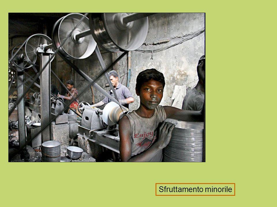 Sfruttamento lavoro minorile