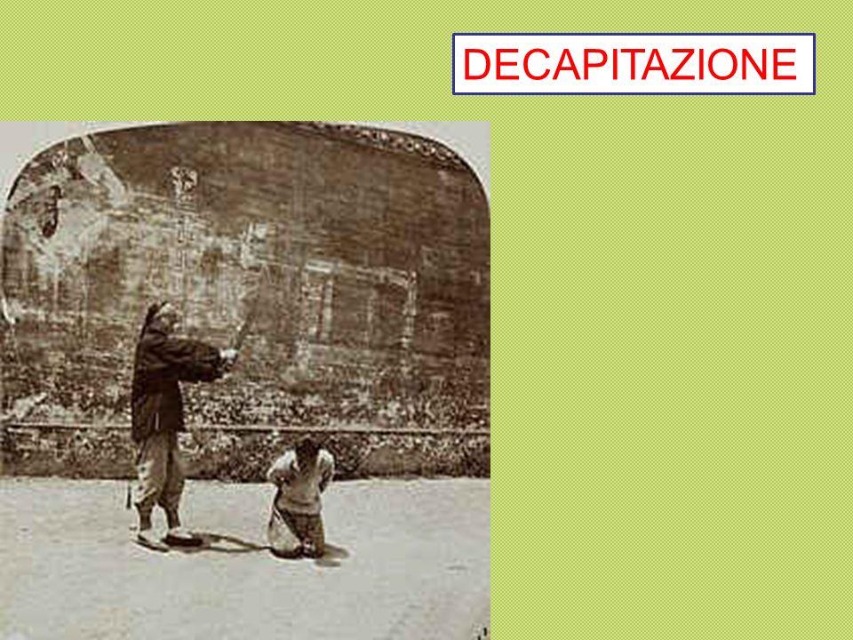 DECAPITAZIONE