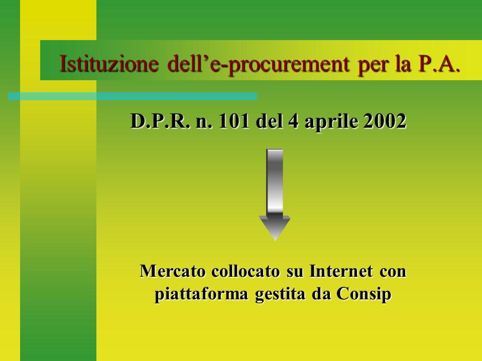 Scopi dellaccesso alle-procurement Migliorare efficacia ed efficienza dei rifornimenti Garantire ottimale sostegno logistico ai Reparti operativi