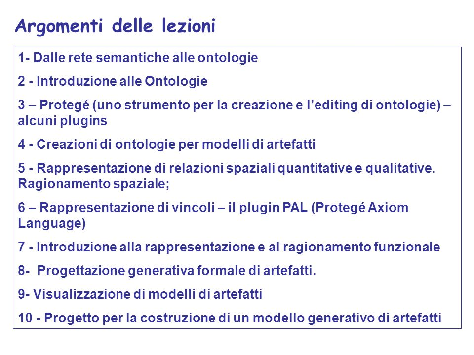 Ontologie basate su frame Monumento Statua Chiesa Sottoclasse di Statua_di_Dante Chiesa di S.