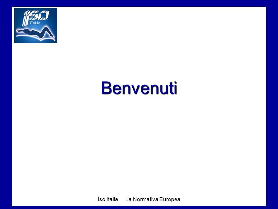 Iso Italia La Normativa Europea Benvenuti