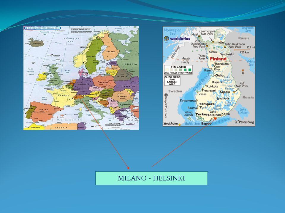 MILANO - HELSINKI
