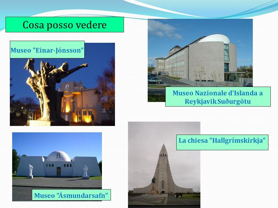 Cosa posso vedere Museo Einar-Jónsson Museo Ásmundarsafn La chiesa Hallgrímskirkja Museo Nazionale d Islanda a Reykjavik Suðurgötu