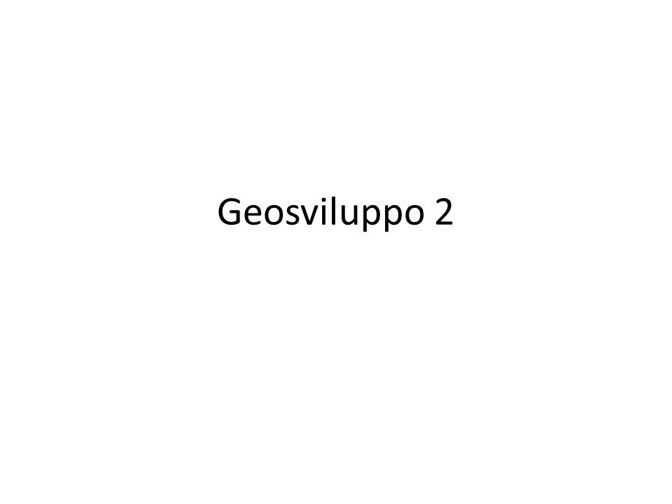 Geosviluppo 2