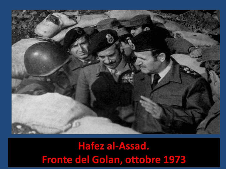 Hafez al-Assad. Fronte del Golan, ottobre 1973